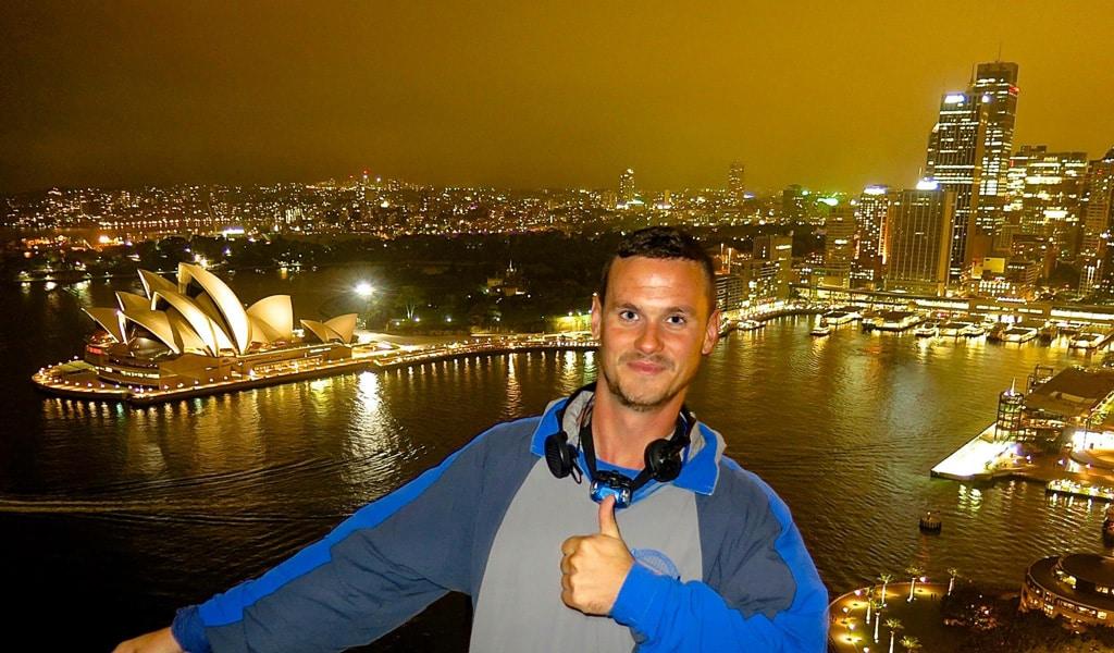 Subida al puente de Sydney