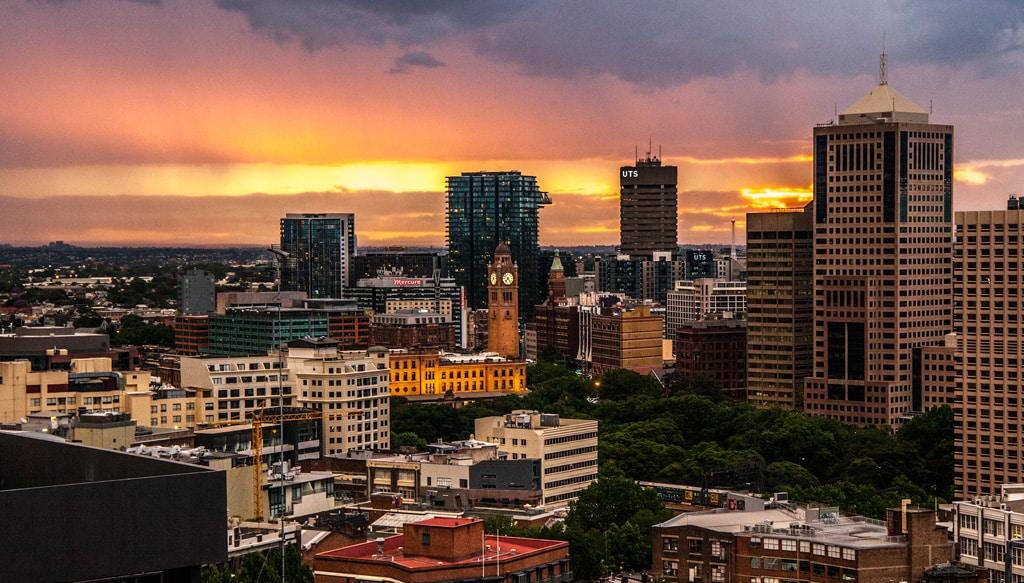 Puestas de sol de Sydney
