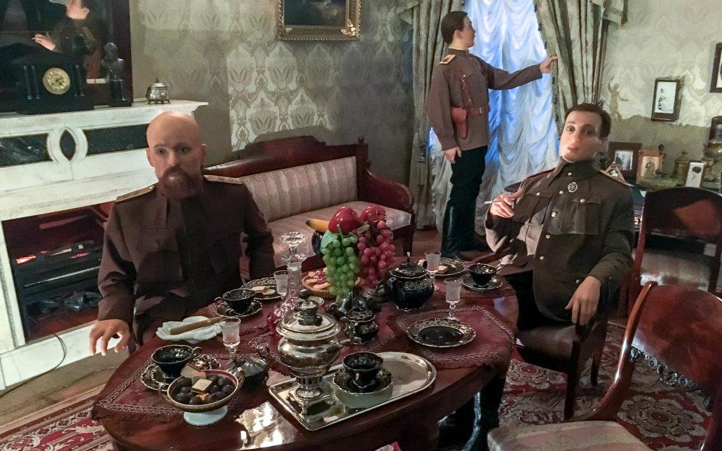 El sótano donde asesinaron a Rasputín