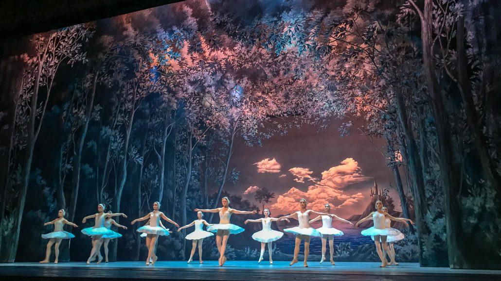 El lago de los cisnes en el Ballet Ruso